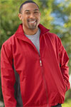 Men's Two Tone Microfiber Jacket