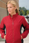 Women's Two Tone Microfiber Jacket