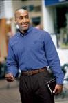 Men's Button Down Poplin Shirt- SS