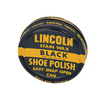 Rothco 10110 Lincoln® USMC Black Stain Wax Shoe Polish