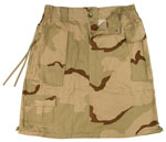Rothco 1011 Women's Tri-Color Camo Knee Length Skirt