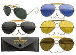 Rothco 10200 Rothco Aviator Air Force Style Sunglasses w/ Case - Chrome