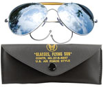 Rothco 10201 Rothco Aviator Air Force Style Sunglasses w/ Case - Mirror