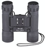 Rothco 10285 Black Compact 10 X 25mm Binoculars
