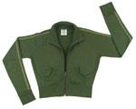 Rothco 1028 Women's Olive Drab Zip-Up Sweatshirt