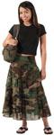Rothco 1030 Rothco Womens Gauze Skirt - Woodland Camo
