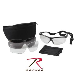 Rothco 10339 Uvex Genesis Military Eye Protection Kit