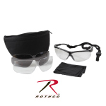 Rothco 10339 Uvex Genesis Military Eye Protection Kit