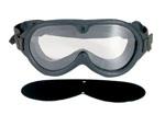 Rothco 10347 Rothco Gi Type Sun-Wind-Dust Goggles - Black