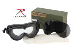 Rothco 10351 *gi Sun-Wind-Dust Goggles-Ballistic Lens