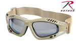 Rothco 10376 Rothco Coyote Tactical Goggles ''ce''