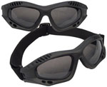 Rothco 10377 Black Tactical Goggles