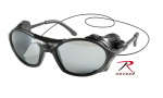 Rothco 10380 Tactical Sunglass w/Leather Type Wind Guard ''ce''