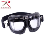Rothco 10390 Rothco Aviator Style Goggles - Black