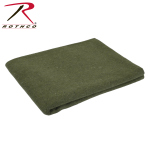 Rothco 10430 Rothco Wool Rescue Blanket - Olive Drab