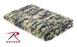 Rothco 10569 Woodland Digital Camo Fleece Blanket