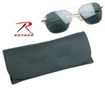 Rothco 10714 55mm Ao Original Pilot Polarized Sunglasses - Gold