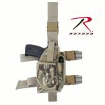 Rothco 10751 Rothco Deluxe Adj Drop Leg Holster - Multicam