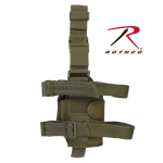Rothco 10754 Rothco Deluxe Adjustable Drop Leg Holster - Od