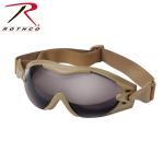 Rothco 11397 Rothco Swat Tec Single Lens Tact Goggle-Coyote