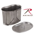 Rothco 11512 Rothco S/S Canteen Cup Lid For Item 512