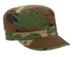 Rothco 1153 Rothco Women Adjustable Vintage Fatigue Cap - Woodland Camo