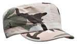 Rothco 1156 Rothco Women Adjustable Vintage Fatigue Cap - Subdued Pink Camo