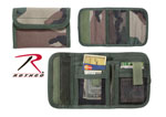 Rothco 11630 Deluxe Woodland Camo Tri-Fold ID Wallet