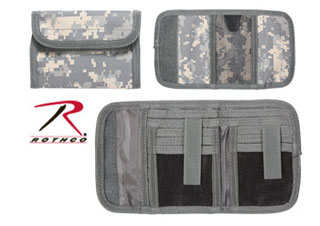 Rothco 11640 Deluxe Army Digital Tri-Fold ID Wallet