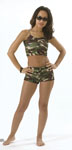 Rothco 1203 Camo Hot Shorts