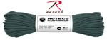 Rothco 123 Rothco Nylon Paracord 550lb 100 Ft / Hunter Green