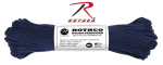 Rothco 124 Rothco Nylon Paracord 550lb 100 Ft / Midnight Blue