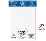 Rothco 1284 Badge Magic Cut To Fit Freestyle Kit / Adhesive