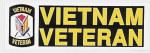 Rothco 1356 Vietnam Veteran Bumper Sticker