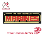 Rothco 1364 Few Proud Marine Bumper Sticker