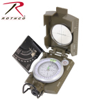 Rothco 14060 Rothco Deluxe Od Marching Compass