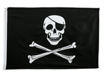 Rothco 1436 Jolly Roger 2' X 3' Poly Flags
