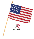Rothco 1445 Mini American Flag - 8'' X 12''