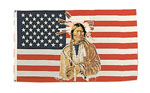 Rothco 1448 U.S. / American Indian 3? X 5? Flag