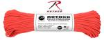 Rothco 146 Rothco Nylon Paracord 550lb 100 Ft / Red