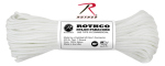 Rothco 147 Rothco Nylon Paracord 550lb 100 Ft / White