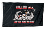 Rothco 1481 Kill'em All 3' X 5' Flag