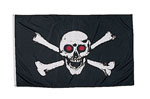 Rothco 1488 Red Skull 3' X 5' Flag