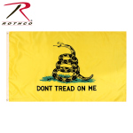 Rothco 1546 Rothco Don't Tread On Me Flag / 3' X 5' - Yellow