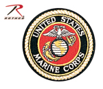 Rothco 1549 Deluxe Round U.S.M.C. Patch