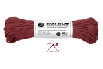 Rothco 161 Rothco Nylon Paracord 550lb 100 Ft / Burgundy