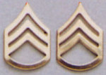 Rothco 1644 Polished Staff Sgt Insignia
