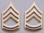 Rothco 1645 Polished Sgt 1st Class Insignia