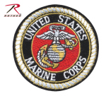 Rothco 1649 Deluxe USMC Round Patch 3''