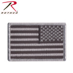 Rothco 16666 Reversed Black/grey U.S. Flag Patch